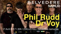 Dr Voy opening act for Phill Rudd from AC/DC